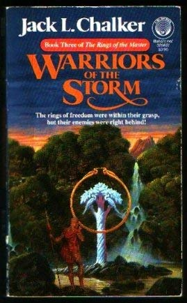 Image for Warriors of the Storm (Rings of the Master, Book 3)