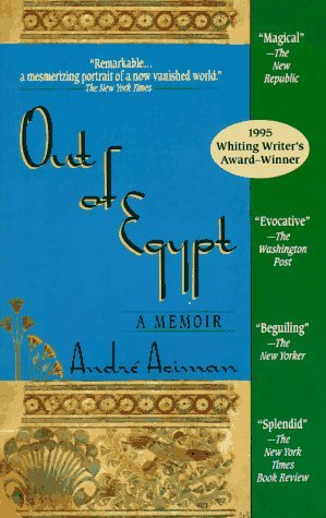 Image for Out of Egypt : A Memoir